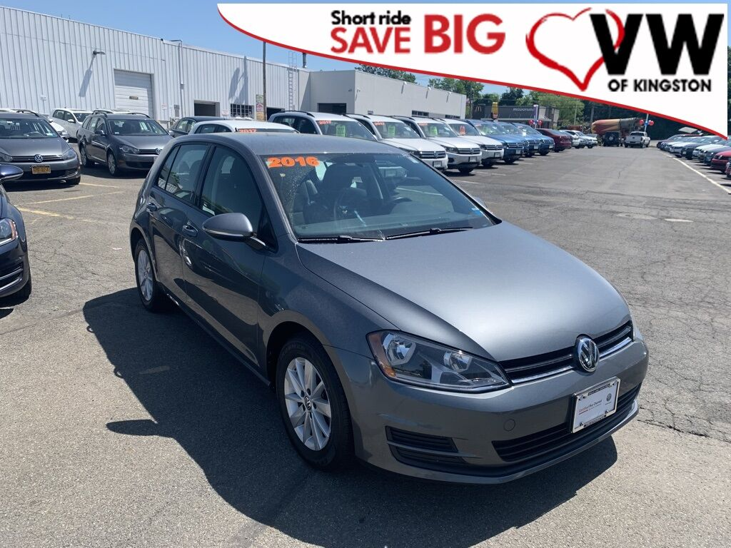 2016_Volkswagen_Golf_TSI S 4-Door_ Kingston NY