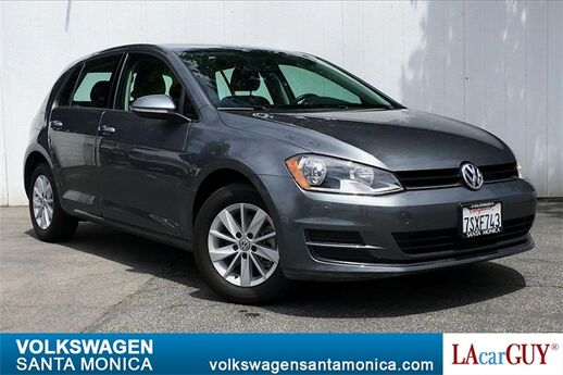 2016 Volkswagen Golf TSI S 4-Door Santa Monica CA