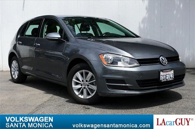 2016_Volkswagen_Golf_TSI S 4-Door_ Santa Monica CA