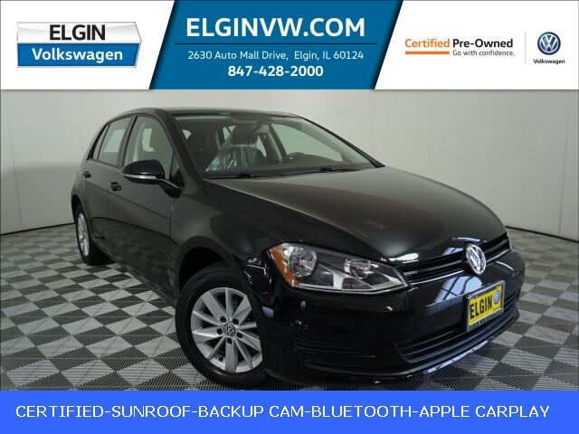 2016 Volkswagen Golf TSI S 4-Door w/ Sunroof Elgin IL