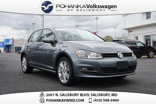 2016_Volkswagen_Golf_TSI SE 4-Door ** CERTIFIED ** LEATHER SUNROOF **_ Salisbury MD