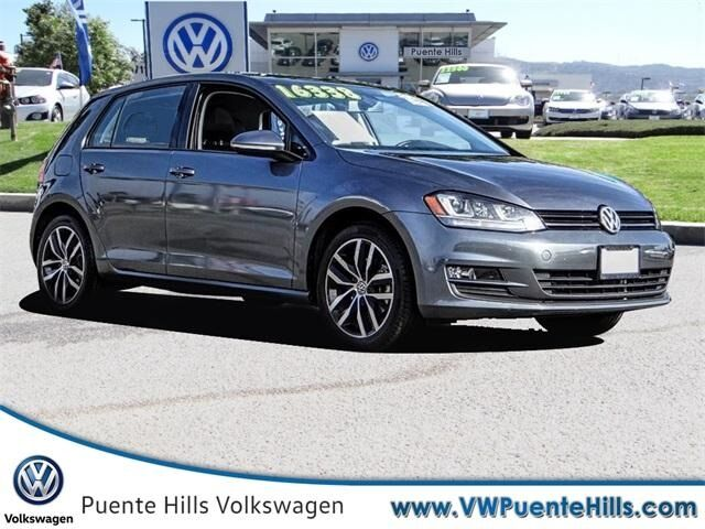 2016 Volkswagen Golf TSI SE 4-Door City of Industry CA