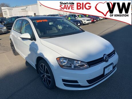 2016 Volkswagen Golf TSI SE 4-Door Kingston NY