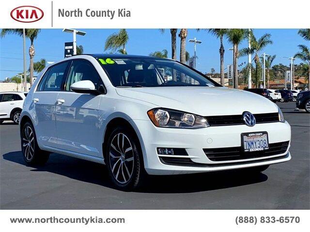 2016 Volkswagen Golf TSI SE 4-Door San Diego County CA