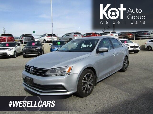 2016 Volkswagen JETTA COMFORTLINE! MANUAL! + TWO SETS OF TIRES! SUNROOF! BACKUP CAM! BLUETOOTH! SPORTY DRIVE! Kelowna BC