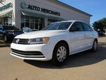 2016 Volkswagen Jetta 1.4T S 6A. BLUETOOTH, AM/FM/CD/AIUX. CRIOSE CONTROL,