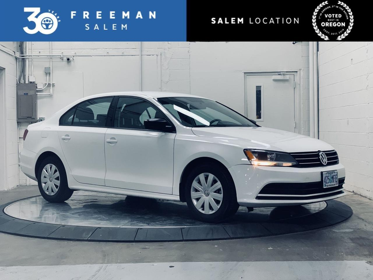 2016 Volkswagen Jetta 1.4T S Technology Pkg Backup Camera Salem OR