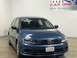 2016_Volkswagen_Jetta_1.4T S WITH TECHNOLOGY AUTOMATIC REARVIEW CAMERA BLUETOOTH CRUIS_ Carrollton TX