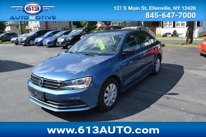 2016 Volkswagen Jetta 1.4T S w/Technology 6A Ulster County NY