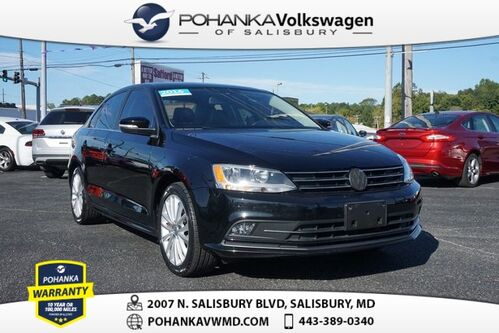 2016_Volkswagen_Jetta_1.8T SEL ** CERTIFIED ** LEATHER SUNROOF ** CLEAN CARFAX **_ Salisbury MD