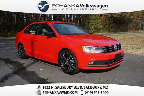 2016_Volkswagen_Jetta_1.8T Sport ** LEATHER & NAVI ** 37+ MPG **_ Salisbury MD