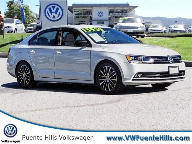 2016 Volkswagen Jetta 1.8T Sport City of Industry CA