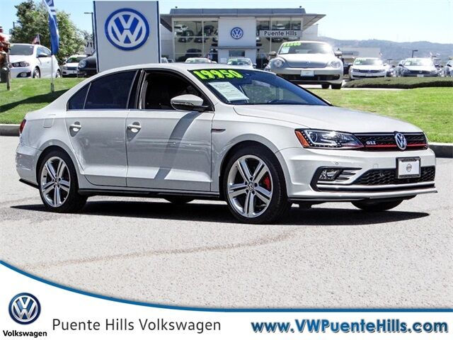 2016 Volkswagen Jetta 2.0T GLI SEL City of Industry CA