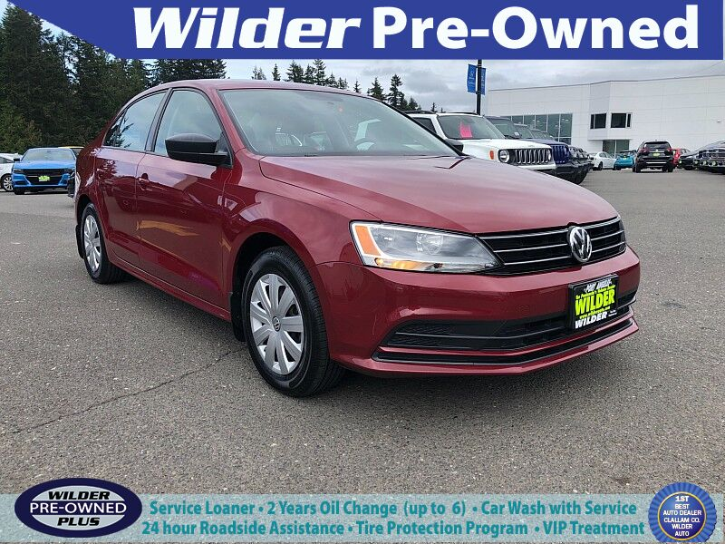 2016 Volkswagen Jetta 4d Sedan S Auto Port Angeles WA