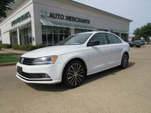 2016_Volkswagen_Jetta_SE 5M LEATHER, NAVIGATION, BACKUP CAMERA, KEYLESS START, HTD FRONT SEATS_ Plano TX