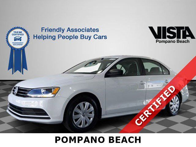 2016 Volkswagen Jetta Sedan 1.4T S Coconut Creek FL