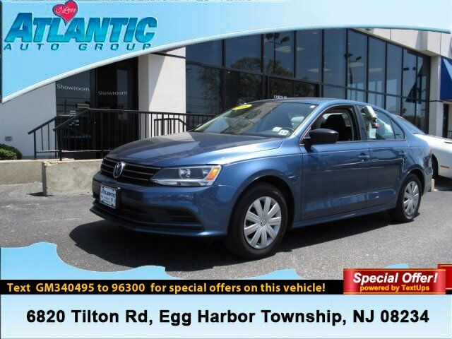 2016 Volkswagen Jetta Sedan 1.4T S Egg Harbor Township NJ