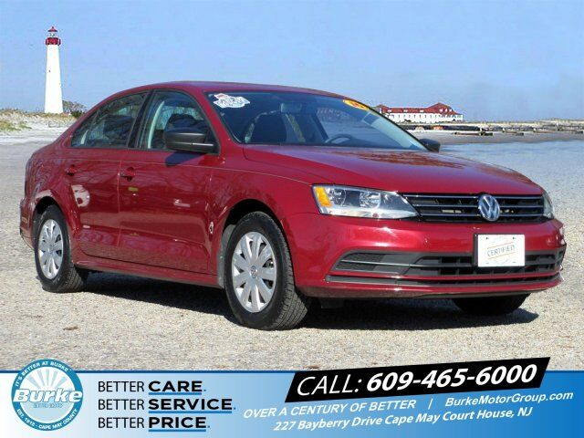 2016 Volkswagen Jetta Sedan 1.4T S w/Technology South Jersey NJ