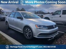 2016 Volkswagen Jetta Sedan 1.4T SE South Burlington VT