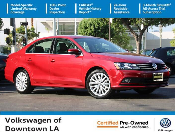 2016 Volkswagen Jetta Sedan 1.8T SEL Los Angeles CA