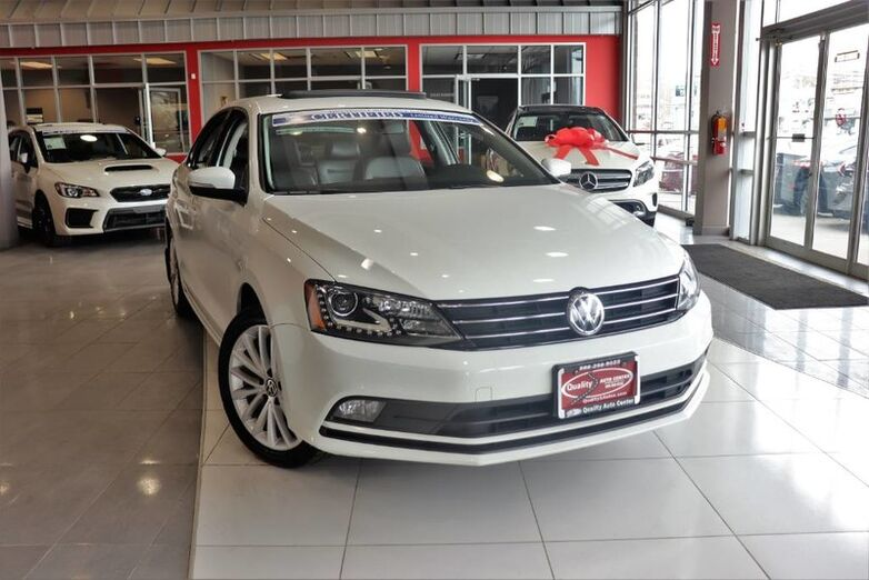 2016 Volkswagen Jetta Sedan 1.8T SEL Premium w/Navi Clean CarFax QUALITY CERTIFIED up to 10 YEARS 100,000 MILE WARR Springfield NJ