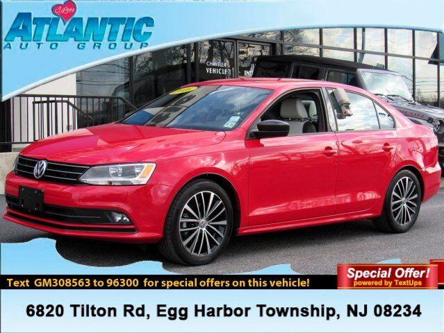 2016 Volkswagen Jetta Sedan 1.8T Sport Egg Harbor Township NJ
