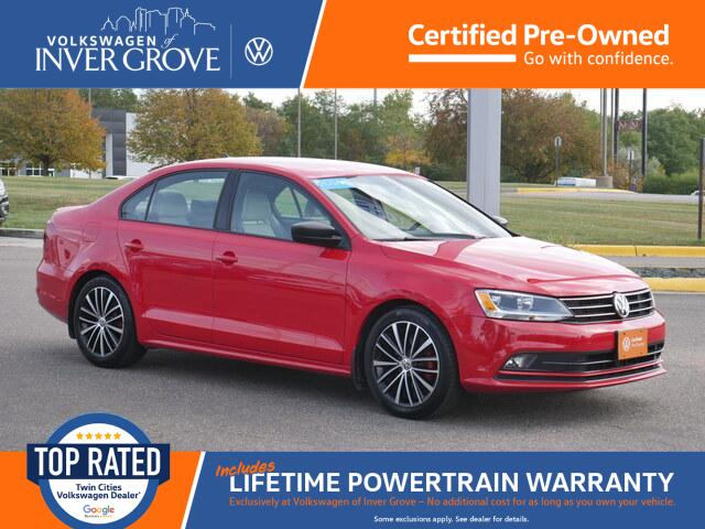 2016 Volkswagen Jetta Sedan 1.8T Sport Inver Grove Heights MN