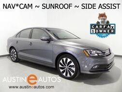 2016_Volkswagen_Jetta Sedan Hybrid SEL Premium_*NAVIGATION BLIND SPOT ALERT, BACKUP-CAMERA, TOUCH SCREEN, MOONROOF, HEATED SEATS, BLUETOOTH PHONE & AUDIO_ Round Rock TX