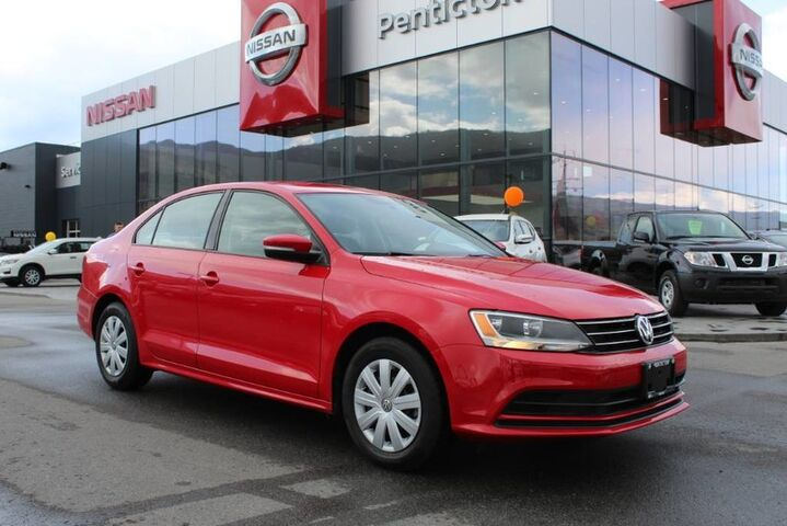 2016 Volkswagen Jetta Sedan Trendline+, w/ Heated Front Seats, Low Km's, and No Accidents Kelowna BC