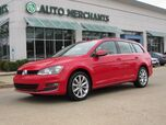2016 Volkswagen Jetta SportWagen SE, LEATHERETTE, SUNROOF, HEATED SEATS, BLUETOOTH CONNECTION, FOG LIGHTS, PREMIUM STEREO, CD PLAYER