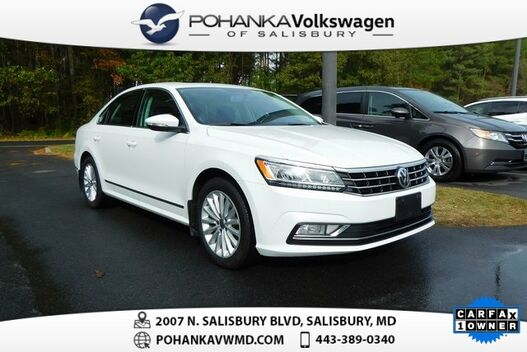 2016_Volkswagen_Passat_1.8T SE ** CERTIFIED ** LEATHER SUNROOF ** CLEAN CARFAX **_ Salisbury MD