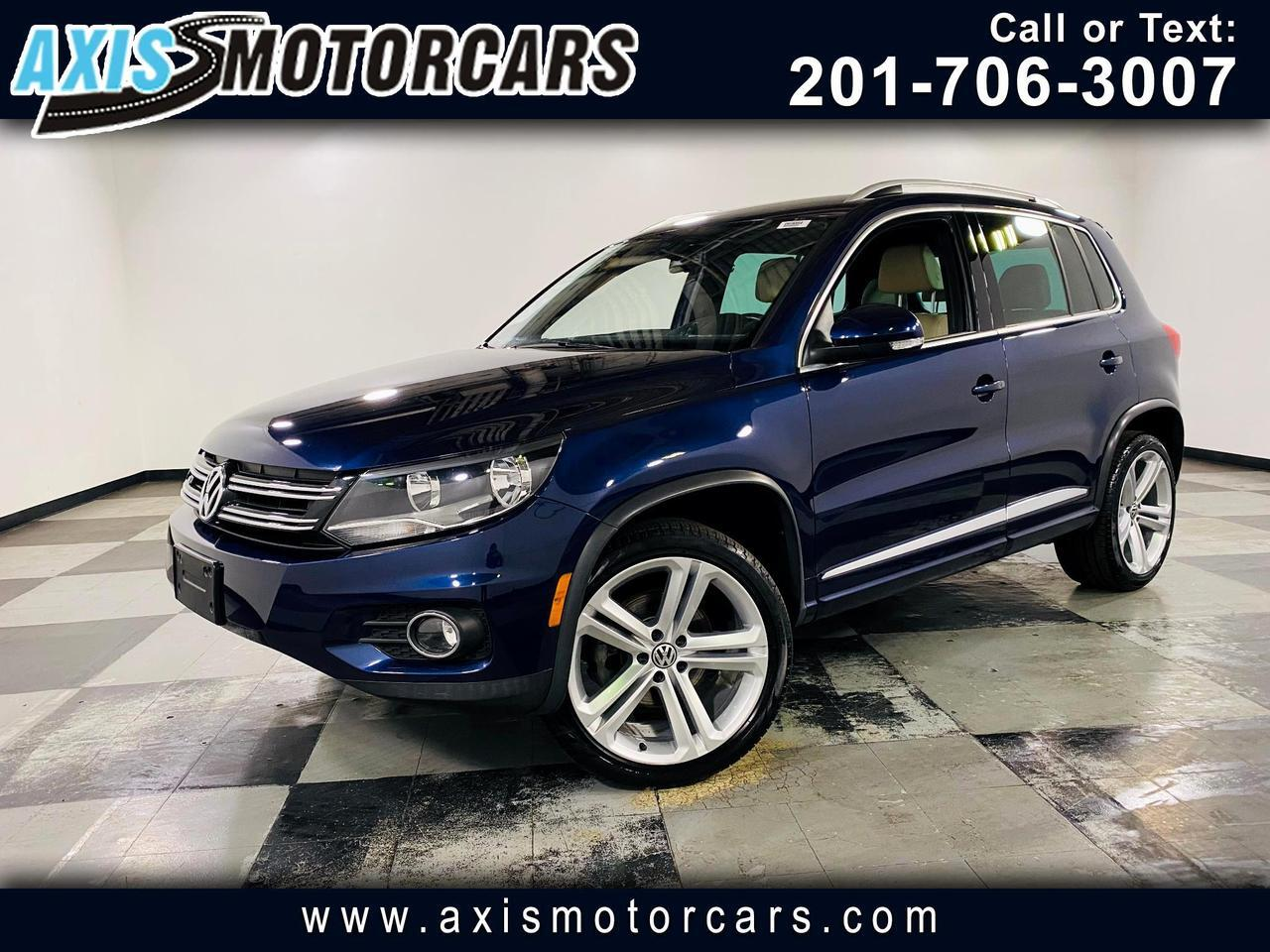 2016 Volkswagen Tiguan 4MOTION 4dr Auto R-Line w/Backup Camera Jersey City NJ