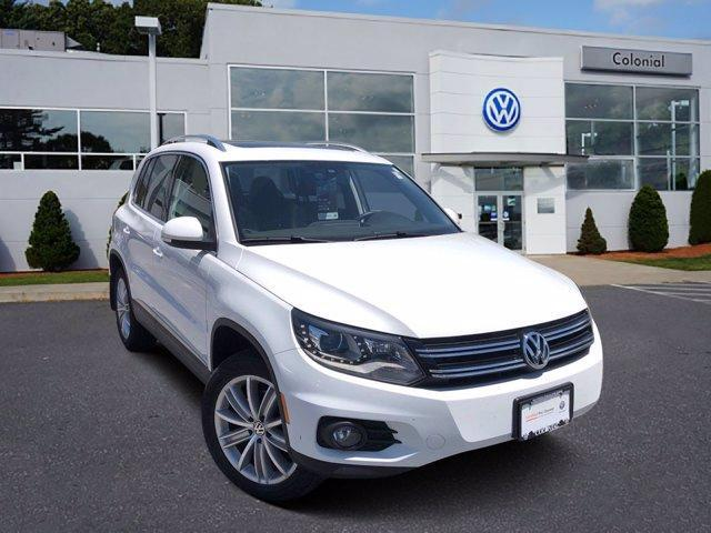 2016 Volkswagen Tiguan 4MOTION 4dr Auto SE Westborough MA