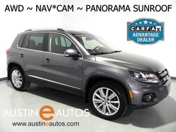 2016_Volkswagen_Tiguan 4MOTION SE_*NAVIGATION, PANORAMA MOONROOF, BACKUP-CAMERA, TOUCH SCREEN, HEATED SEATS, ALLOY WHEELS, BLUETOOTH PHONE & AUDIO_ Round Rock TX
