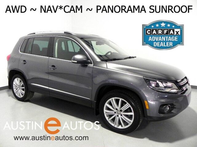 2016 Volkswagen Tiguan 4MOTION SE *NAVIGATION, PANORAMA MOONROOF, BACKUP-CAMERA, TOUCH SCREEN, HEATED SEATS, ALLOY WHEELS, BLUETOOTH PHONE & AUDIO Round Rock TX