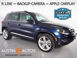 2016_Volkswagen_Tiguan R-Line_*BACKUP-CAMERA, TOUCH SCREEN, HEATED SEATS, STEERING WHEEL CONTROLS, 19 INCH WHEELS, BLUETOOTH PHONE & AUDIO, APPLE CARPLAY_ Round Rock TX