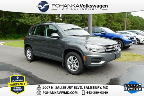 2016_Volkswagen_Tiguan_S ** CLEAN CARFAX ** AWD ** LEATHER ** 4Motion_ Salisbury MD