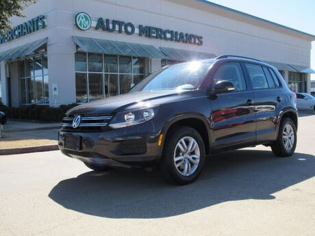 2016 Volkswagen Tiguan S 4Motion, HEATED FRONT SEATS, BACK UP CAMERA, BLUETOOTH CONNECTIVITY Plano TX