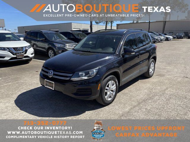 2016 Volkswagen Tiguan S Houston TX