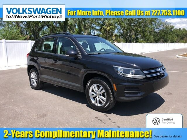 2016 Volkswagen Tiguan S New Port Richey FL