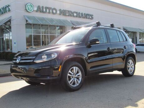 2016 Volkswagen Tiguan S TURBO, LEATHERETTE INTERIOR, BACK-UP CAMERA, BLUETOOTH CONNECTION Plano TX