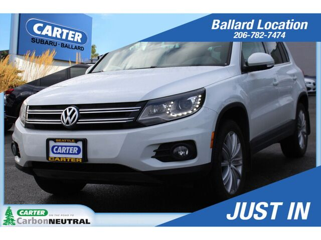 2016 Volkswagen Tiguan SE 4MOTION Seattle WA