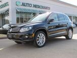 2016 Volkswagen Tiguan SE 4Motion 2.0L 4CYL AUTOMATIC, NAVIGATION, PANORAMIC SUNROOF, BACK-UP CAMERA, HID HEADLIGHTS