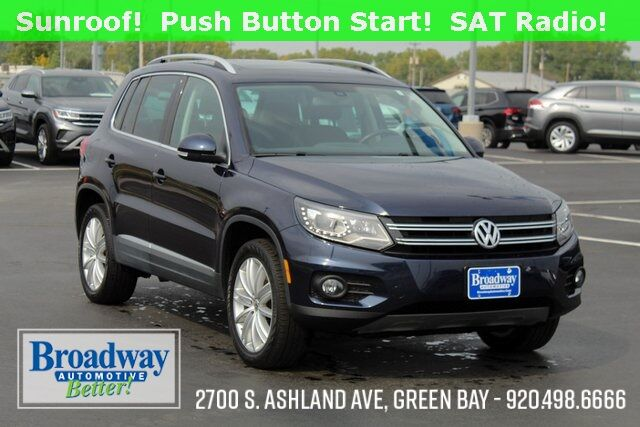2016 Volkswagen Tiguan SE 4Motion Green Bay WI