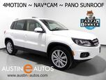 2016 Volkswagen Tiguan SE 4Motion *NAVIGATION, PANORAMA MOONROOF, BACKUP-CAMERA, TOUCH SCREEN, HEATED SEATS, ALLOY WHEELS, BLUETOOTH PHONE & AUDIO