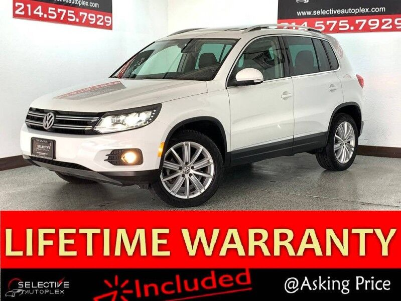 2016 Volkswagen Tiguan SE, NAV, REAR VIEW CAM, PANO ROOF, HEATED FRONT SEATS Carrollton TX