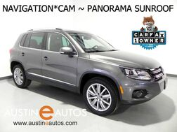2016_Volkswagen_Tiguan SE_*NAVIGATION, PANORAMA MOONROOF, BACKUP-CAMERA, TOUCH SCREEN, HEATED SEATS, ALLOY WHEELS, BLUETOOTH PHONE & AUDIO_ Round Rock TX
