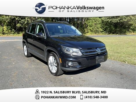 2016_Volkswagen_Tiguan_SE_ Salisbury MD