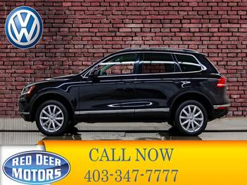 2016_Volkswagen_Touareg_4Motion Comfortline Leather Roof Nav_ Red Deer AB