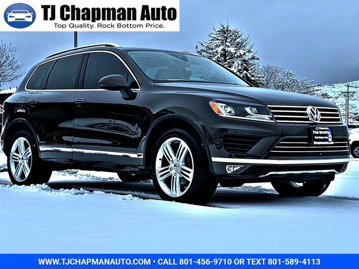 2016 Volkswagen Touareg Executive Salt Lake City UT